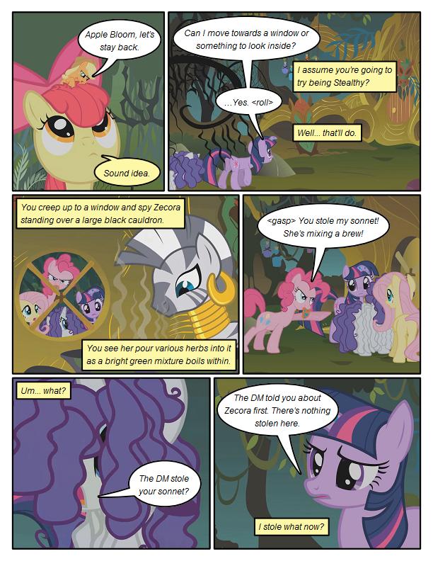Peeping Ponies